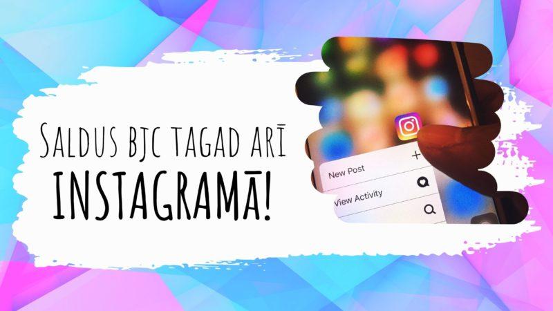"""Aicinām """"piesekot"""" Saldus BJC Instagram profilam"""